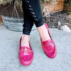 Coach Pink Loafers